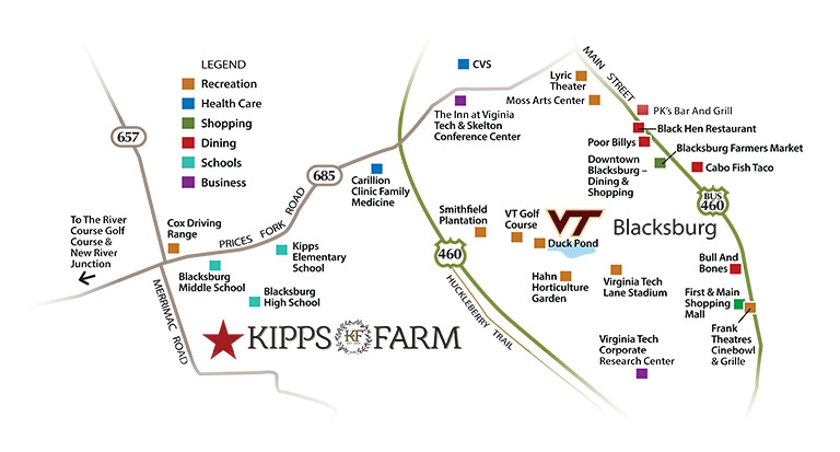 kipps farm poi map